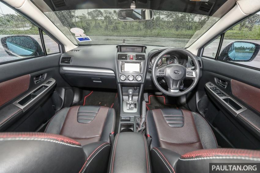 GALLERY: 2018 Subaru XV 2.0i-P vs old 2015 XV STI Image #771979