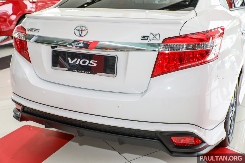 GALERI: Toyota Vios 1.5GX versi 2018 – RM90,980 Image #758327