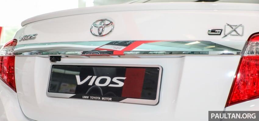 GALERI: Toyota Vios 1.5GX versi 2018 – RM90,980 Image #758333