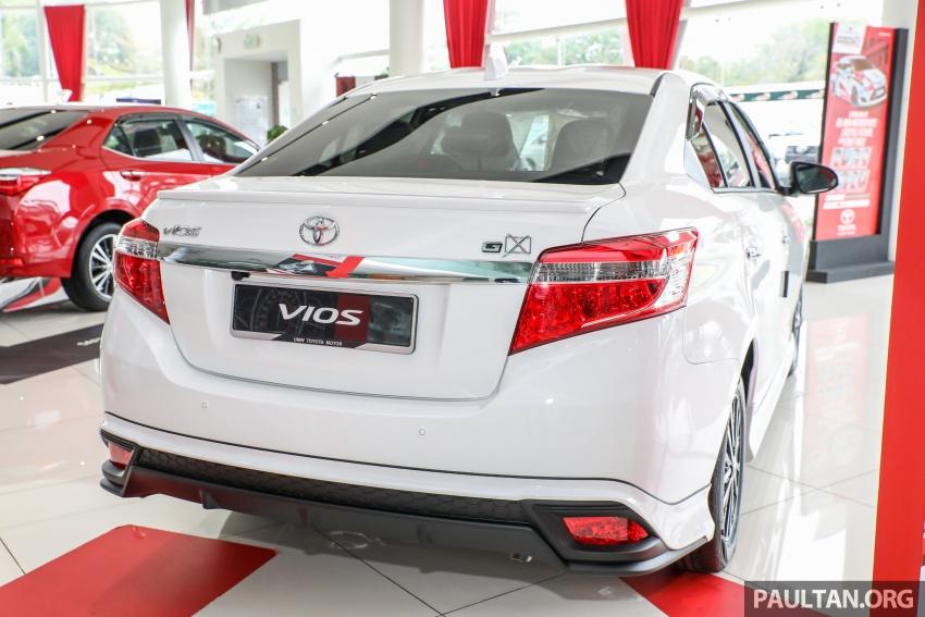 GALERI: Toyota Vios 1.5GX versi 2018 – RM90,980 Image #758308