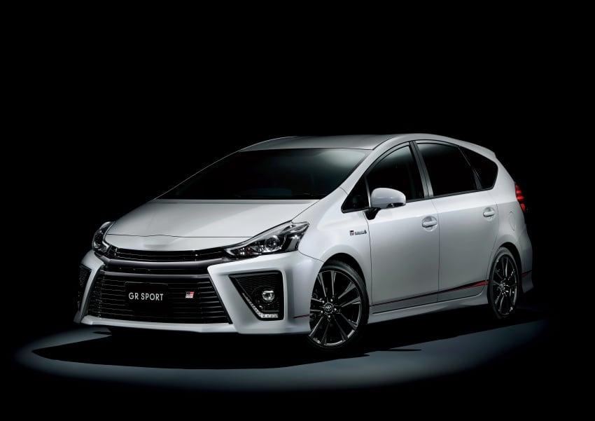 Toyota Yaris GRMN, 86 GR, Prius c GR Sport dan Prius v GR Sport – model lebih sporty dilancarkan di Jepun Image #770580