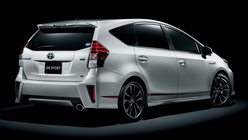 Toyota Yaris GRMN, 86 GR, Prius c GR Sport dan Prius v GR Sport – model lebih sporty dilancarkan di Jepun Image #770581