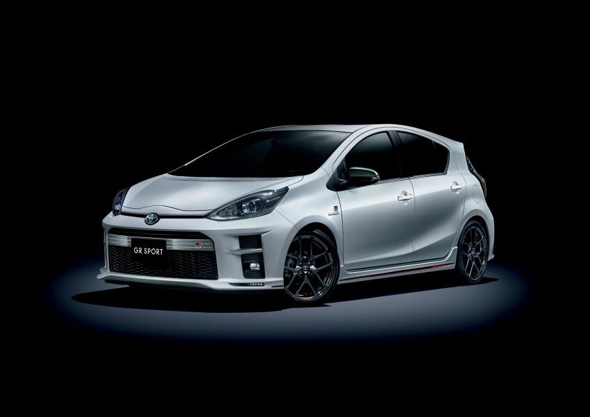 Toyota Yaris GRMN, 86 GR, Prius c GR Sport dan Prius v GR Sport – model lebih sporty dilancarkan di Jepun Image #770573