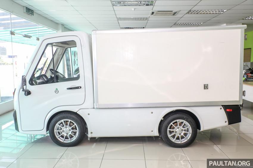 Treeletrik T-MV7 electric lorry in Malaysia: 3 sen/km! Image #772298