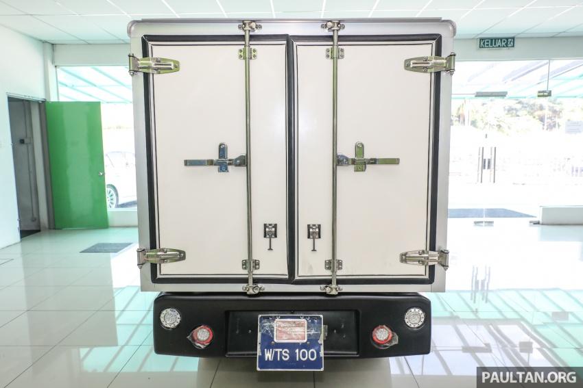 Treeletrik T-MV7 electric lorry in Malaysia: 3 sen/km! Image #772300