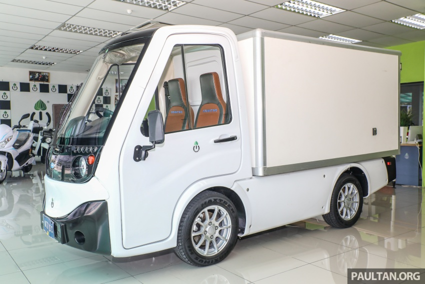 Treeletrik T-MV7 electric lorry in Malaysia: 3 sen/km! Image #772289