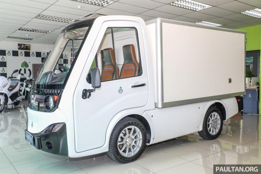Treeletrik T-MV7 electric lorry in Malaysia: 3 sen/km! Image #772289