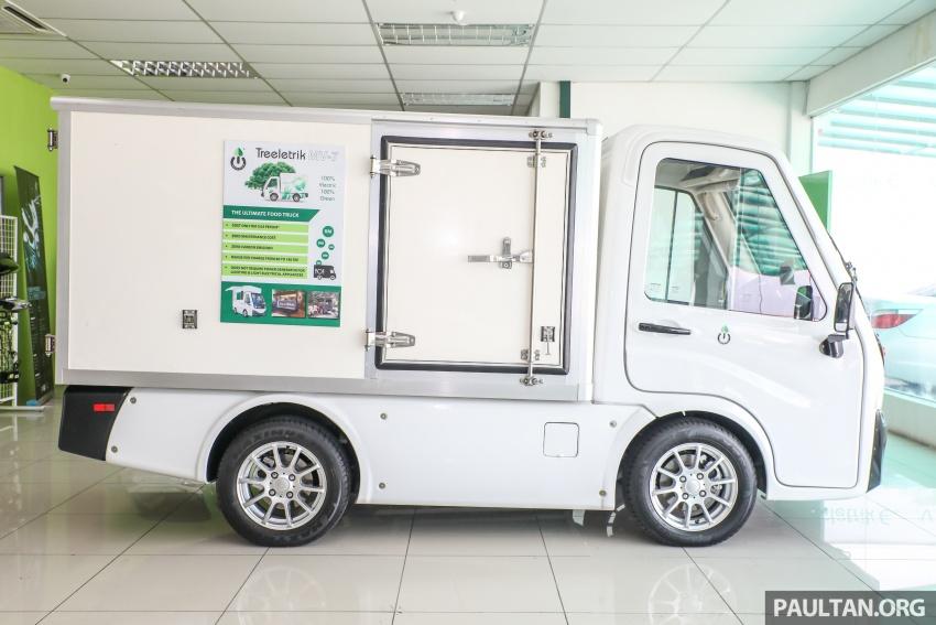 Treeletrik T-MV7 electric lorry in Malaysia: 3 sen/km! Image #772293