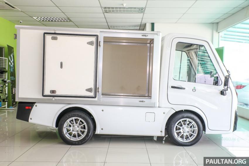 Treeletrik T-MV7 electric lorry in Malaysia: 3 sen/km! Image #772294