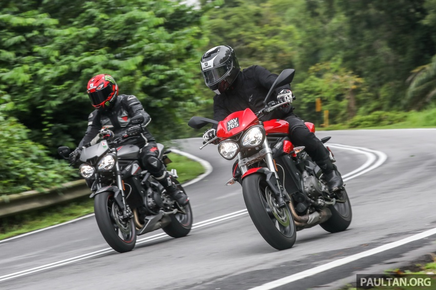REVIEW: Triumph Street Triple 765RS, 765S and 675R Image #764085