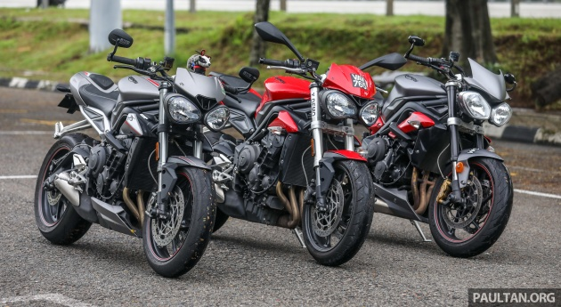 Review Triumph Street Triple 765rs 765s And 675r
