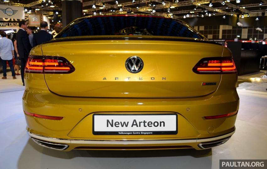 GALLERY: Volkswagen Arteon 2.0 TSI R-Line in S'pore Image #762096