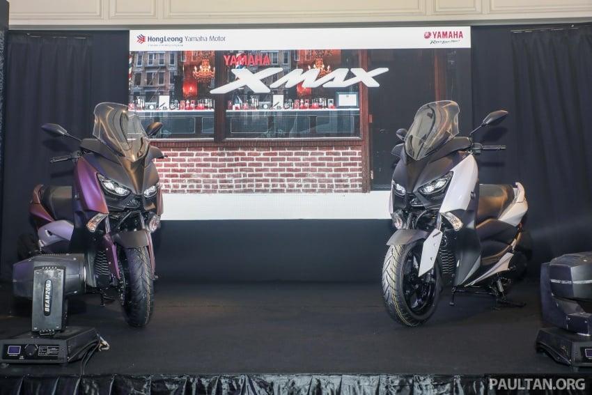 Yamaha XMax 250 dipertonton di Malaysia – import dari Indonesia, bakal masuk pasaran Mac tahun ini Image #761351