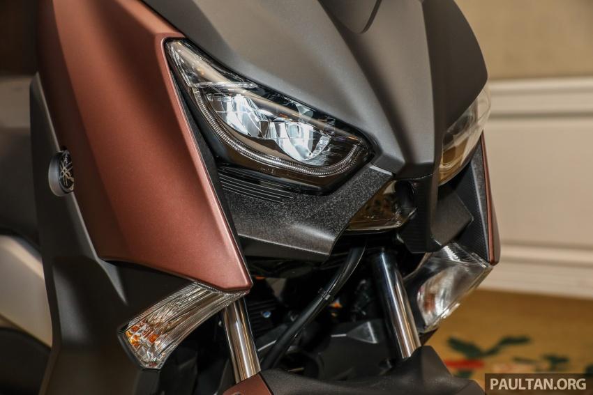 Yamaha XMax 250 dipertonton di Malaysia – import dari Indonesia, bakal masuk pasaran Mac tahun ini Image #761362
