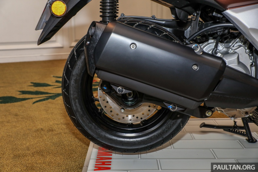 2018 Yamaha X-Max 250 preview – in M'sia end March Image #761400