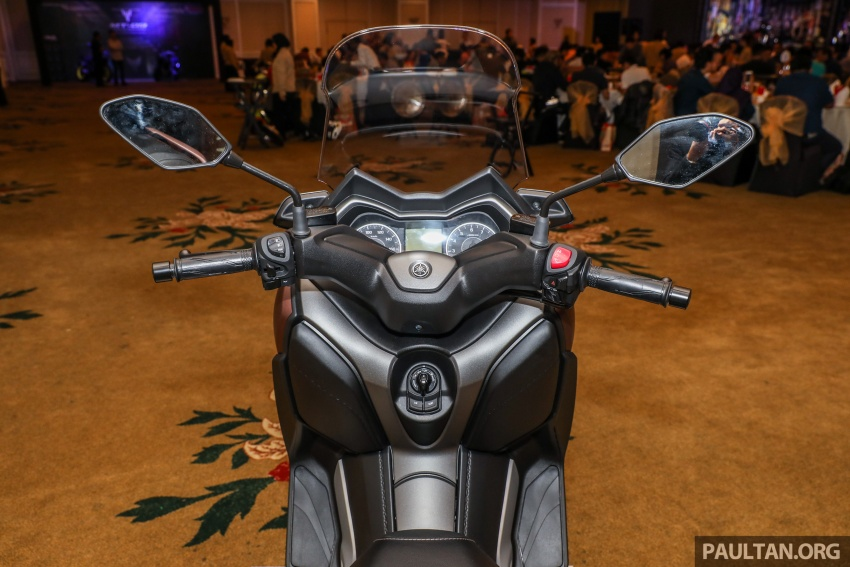 2018 Yamaha X-Max 250 preview – in M'sia end March Image #761403