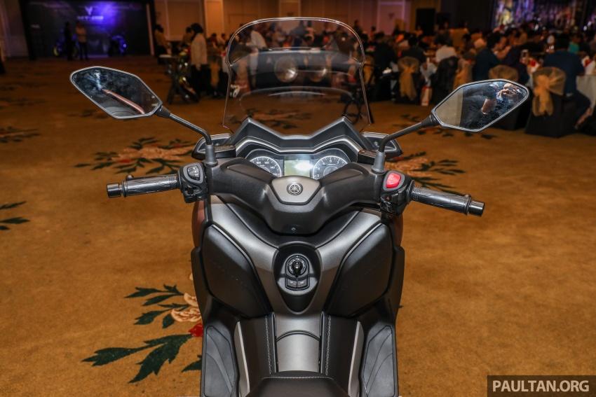 Yamaha XMax 250 dipertonton di Malaysia – import dari Indonesia, bakal masuk pasaran Mac tahun ini Image #761367
