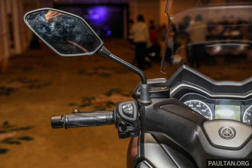 Yamaha XMax 250 dipertonton di Malaysia – import dari Indonesia, bakal masuk pasaran Mac tahun ini Image #761369