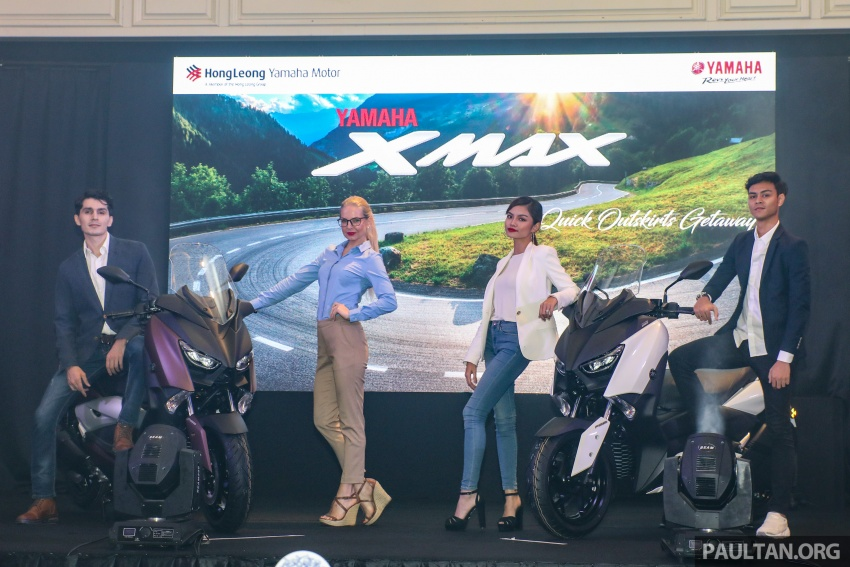 2018 Yamaha X-Max 250 preview – in M'sia end March Image #761381