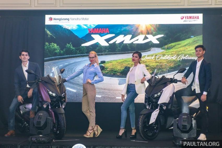 Yamaha XMax 250 dipertonton di Malaysia – import dari Indonesia, bakal masuk pasaran Mac tahun ini Image #761353