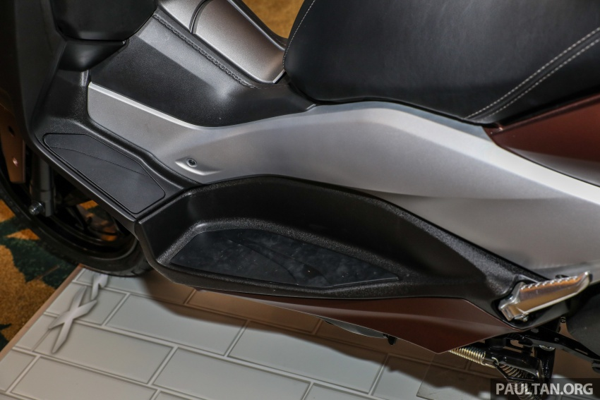 Yamaha XMax 250 dipertonton di Malaysia – import dari Indonesia, bakal masuk pasaran Mac tahun ini Image #761372