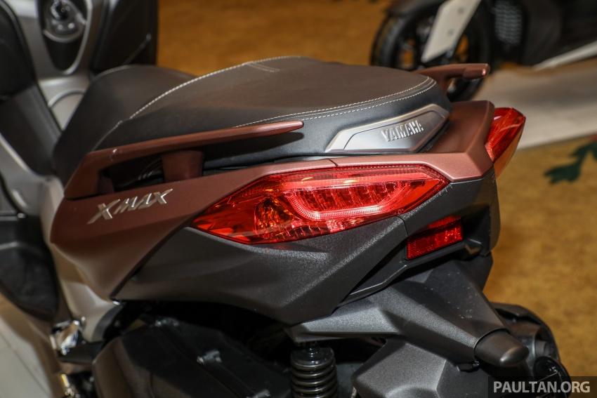Yamaha XMax 250 dipertonton di Malaysia – import dari Indonesia, bakal masuk pasaran Mac tahun ini Image #761376