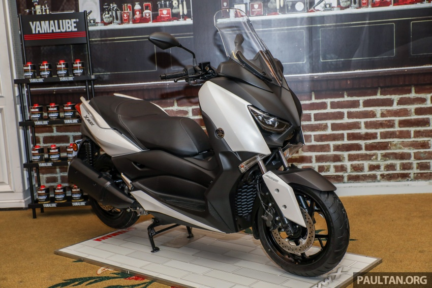 2018 Yamaha X-Max 250 preview – in M'sia end March Image #761386