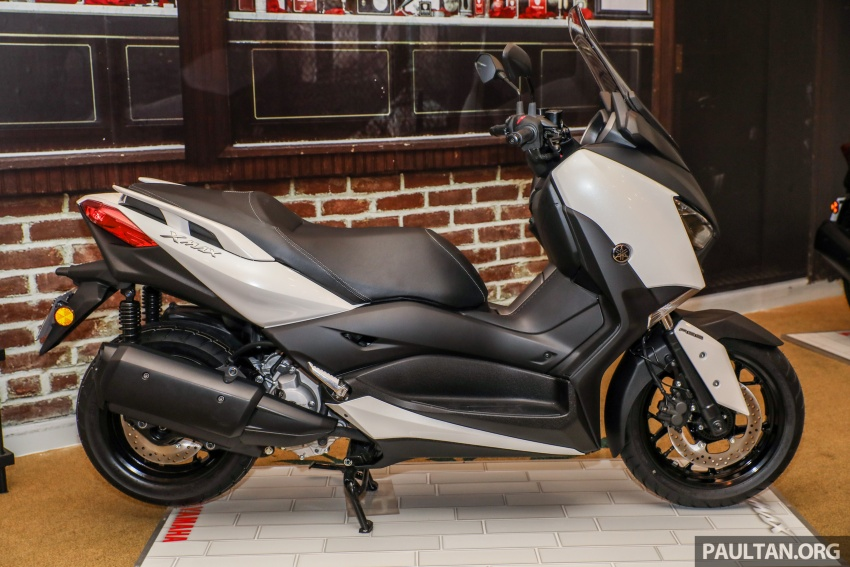 2018 Yamaha X-Max 250 preview – in M'sia end March Image #761389