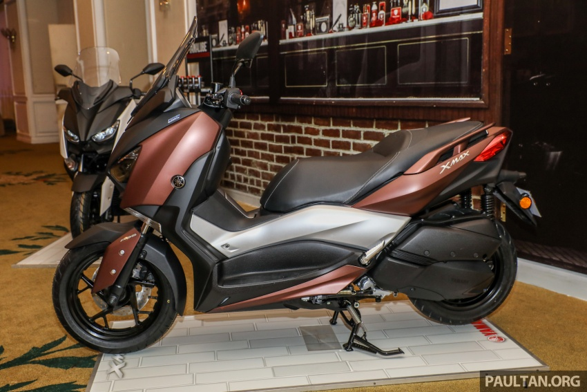 2018 Yamaha X-Max 250 preview – in M'sia end March Image #761391