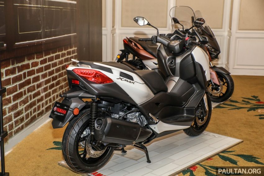 2018 Yamaha X-Max 250 preview – in M'sia end March Image #761393