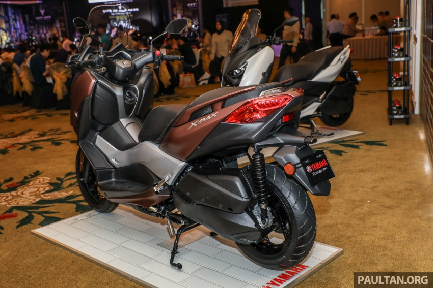 2018 Yamaha X-Max 250 preview – in M'sia end March Image #761394