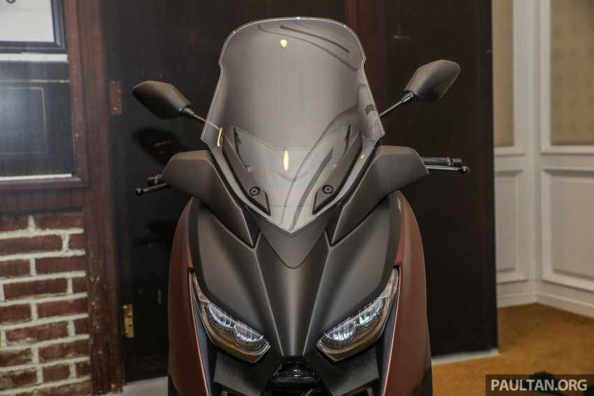 2018 Yamaha X-Max 250 preview – in M'sia end March Image #761395