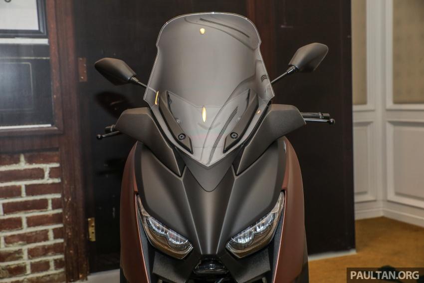 Yamaha XMax 250 dipertonton di Malaysia – import dari Indonesia, bakal masuk pasaran Mac tahun ini Image #761361