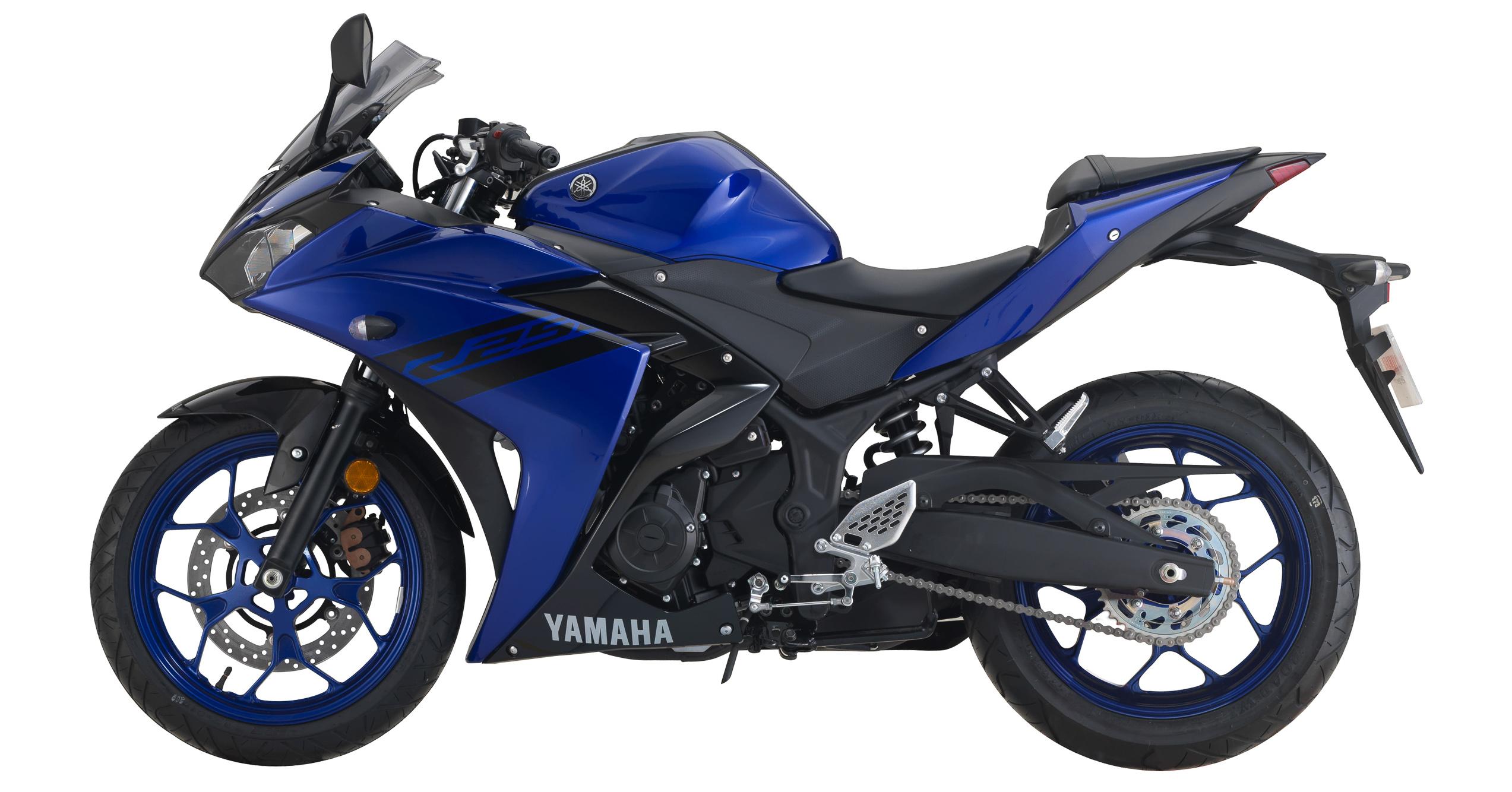 Yamaha R25 Diperkenal Dalam Warna Baharu