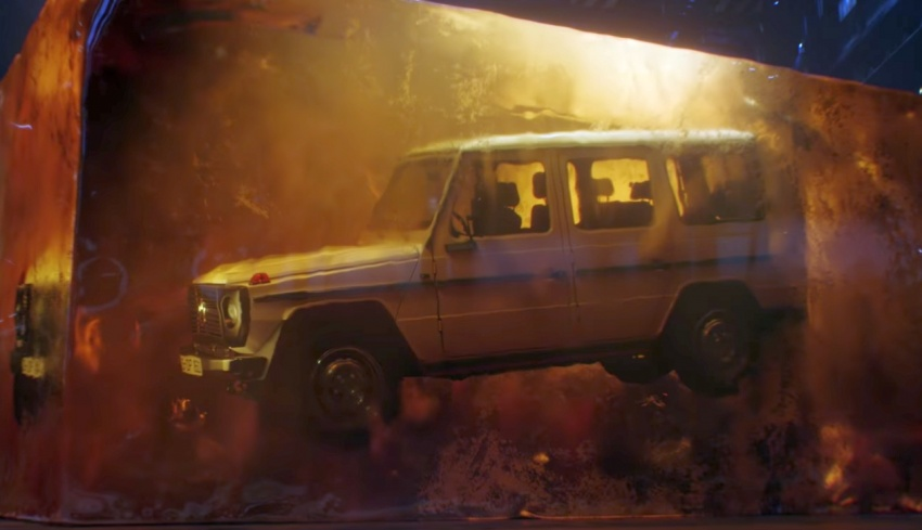 Mercedes G-Class teaser video offers nod to the past Image #756301