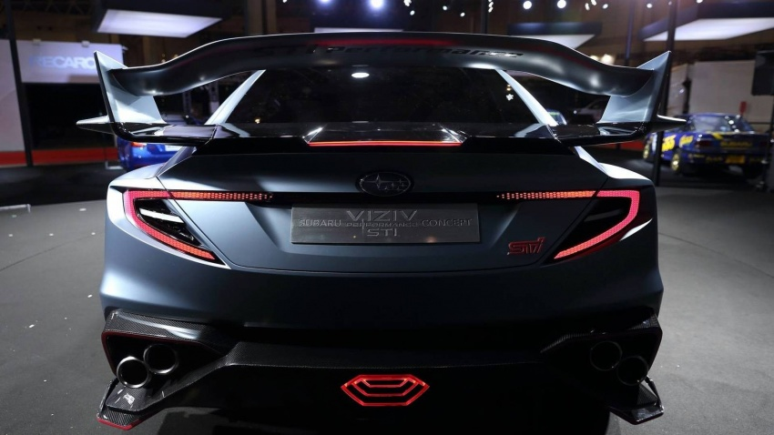 Subaru Viziv Performance STI di Tokyo Auto Salon 2018 – prebiu untuk WRX STI generasi seterusnnya? Image #762458