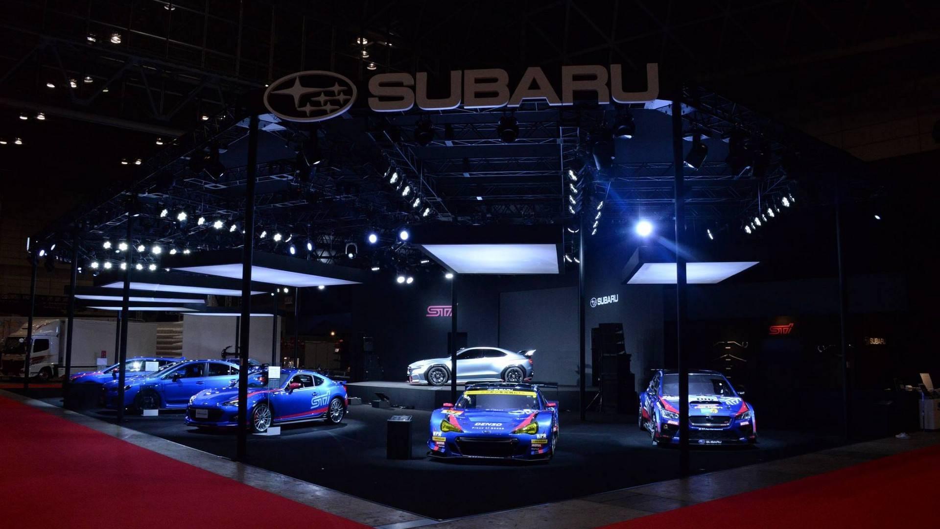 Subaru Viziv Performance STI di Tokyo Auto Salon 2018 ...
