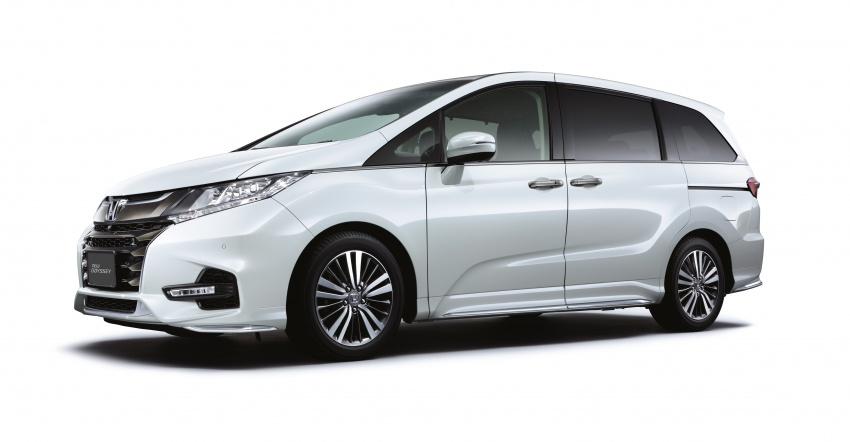 Honda Odyssey facelift kini tiba ke pasaran Malaysia – CBU, hanya satu varian, Honda Sensing, RM254,800 Image #775941