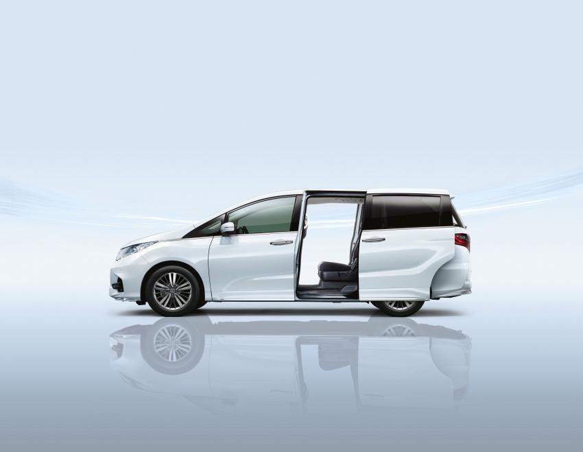 Honda Odyssey facelift kini tiba ke pasaran Malaysia – CBU, hanya satu varian, Honda Sensing, RM254,800 Image #775946