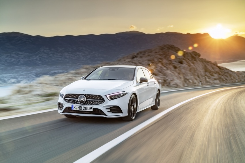 2018 Mercedes-Benz A-Class unveiled, Geneva debut Image #774402