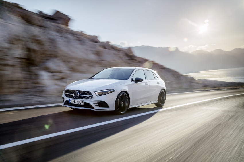 2018 Mercedes-Benz A-Class unveiled, Geneva debut Image #774403