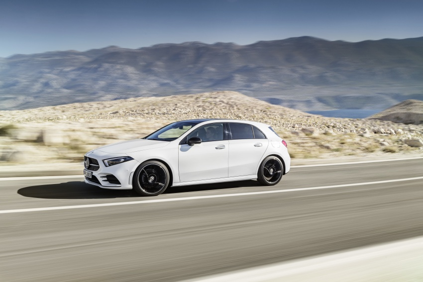 2018 Mercedes-Benz A-Class unveiled, Geneva debut Image #774404