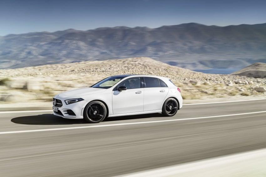 2018 Mercedes-Benz A-Class unveiled, Geneva debut Image #774404