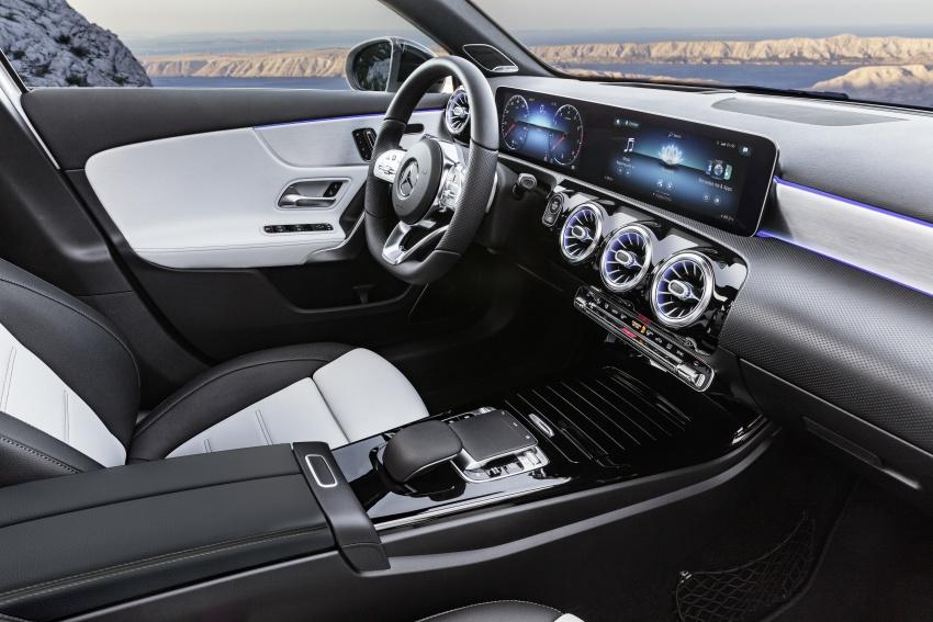 2018 Mercedes-Benz A-Class unveiled, Geneva debut Image #774408