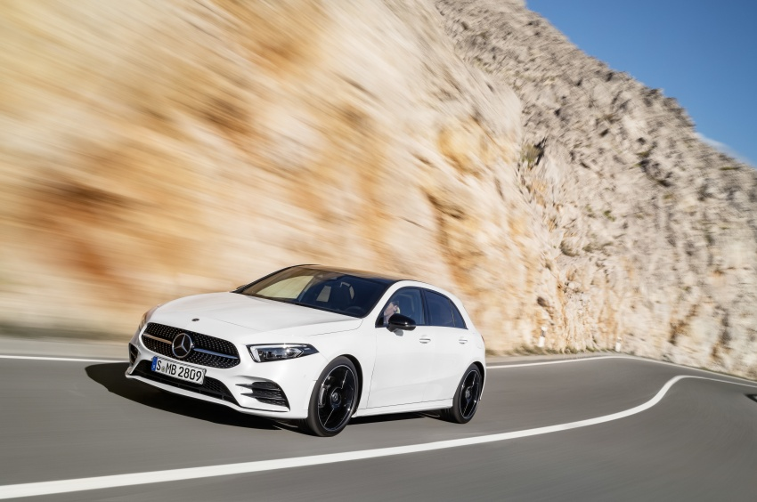 2018 Mercedes-Benz A-Class unveiled, Geneva debut Image #774414