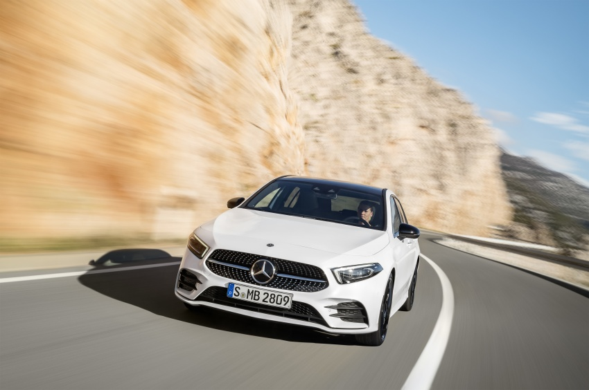 2018 Mercedes-Benz A-Class unveiled, Geneva debut Image #774415