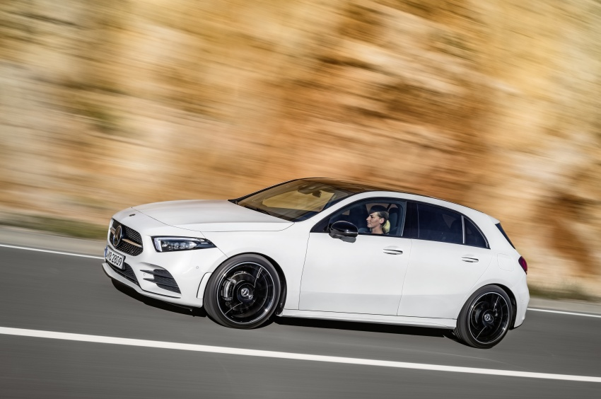 2018 Mercedes-Benz A-Class unveiled, Geneva debut Image #774416