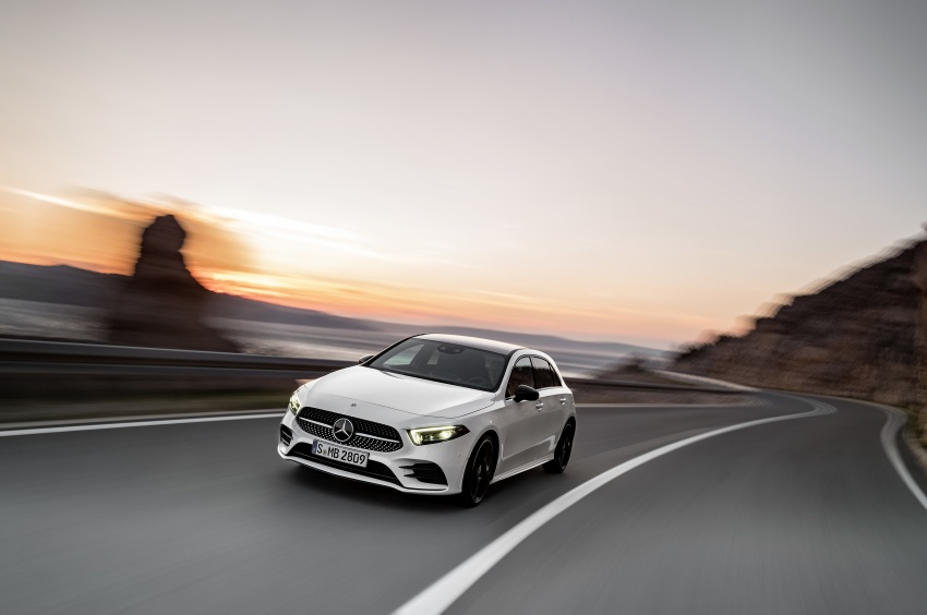 2018 Mercedes-Benz A-Class unveiled, Geneva debut Image #774418