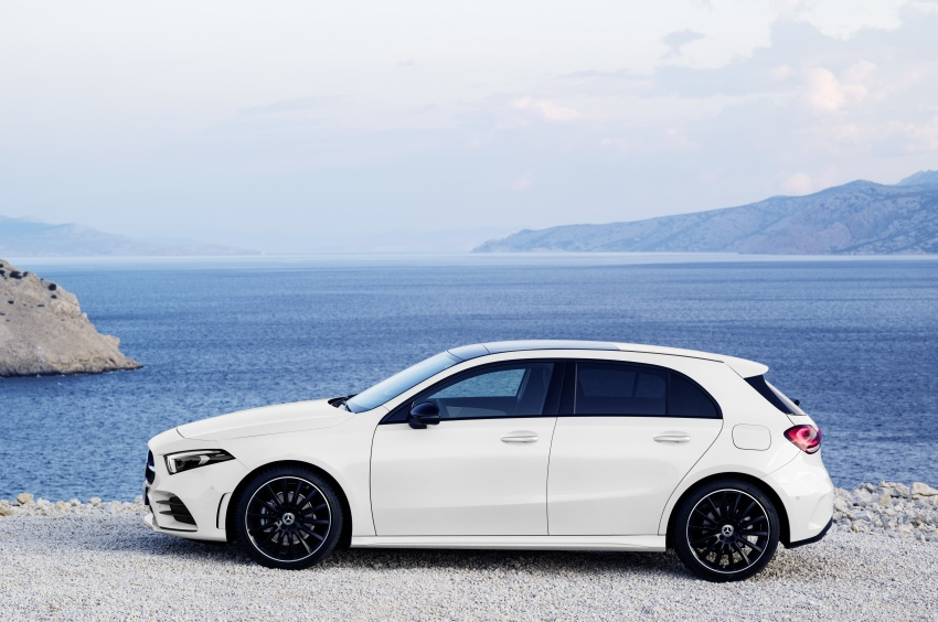 2018 Mercedes-Benz A-Class unveiled, Geneva debut Image #774419