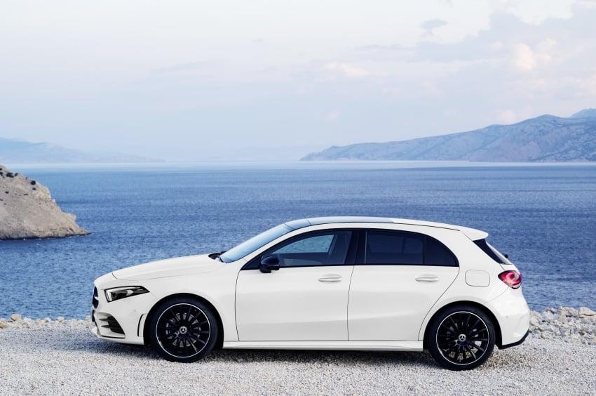 2018 Mercedes-Benz A-Class unveiled, Geneva debut Image #774419